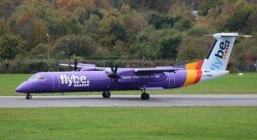 El Gobierno británico rescata a Flybe   Foto: Marvin Mutz (CC BY-SA 2.0)