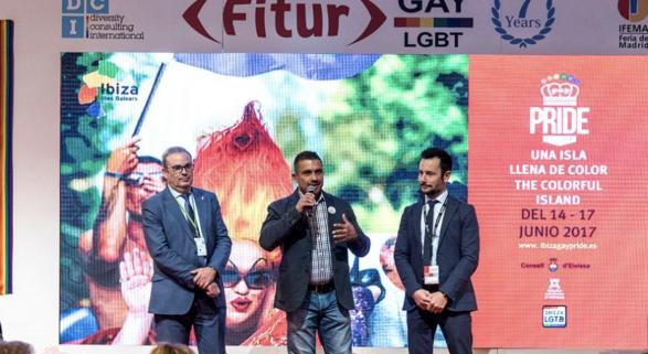 Por primera vez en una década, Maspalomas no estará en 'Fitur Gay'   Foto: imagen de archivo Fitur Gay 2017