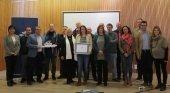 Menorca recibe el título de Región Europea de Gastronomía 2022 | Foto: Susana Mora, presidenta del Consell de Menorca, en el centro