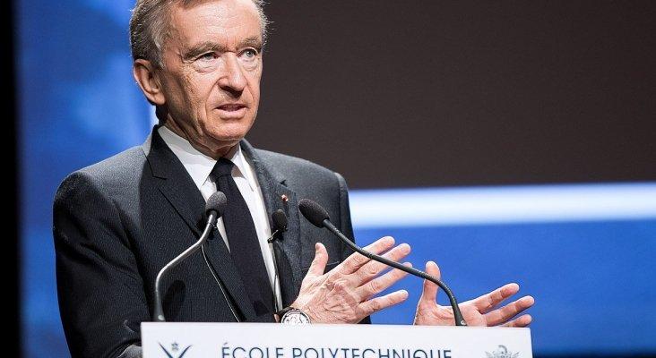 Bernard Arnault, hombre más rico del mundo Foto: Jérémy Barande / Ecole polytechnique Université Paris-Saclay  (CC BY-SA 2.0)