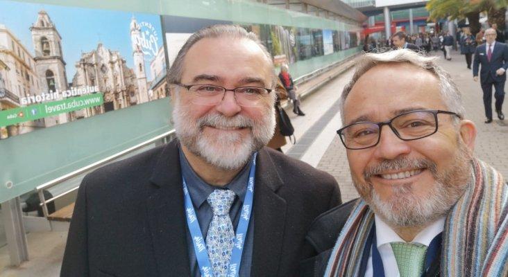 Fernando Gallardo, periodista turístico y conferenciante, Ignacio Moll