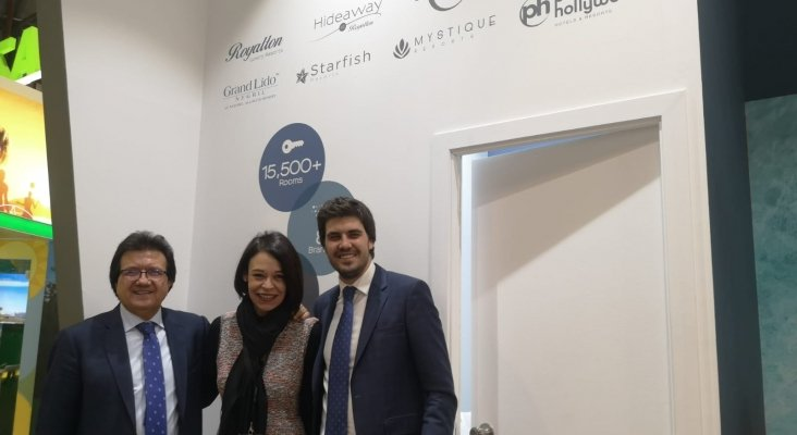 Luis Mata, CEO CONECTA-M, Ruth González, Jorge Mata, director comercial & marketing CONECTA-M