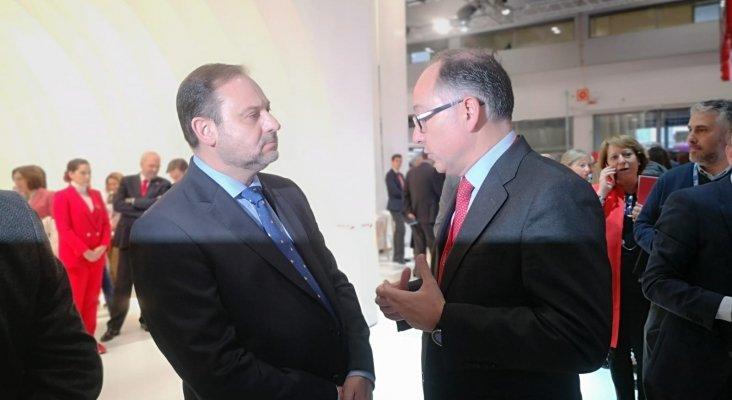José Luis Ábalos, ministro de Fomento de España y Luis Gallego, presidente de Iberia