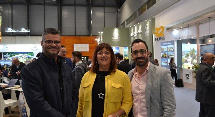Javier Martín, gerente de ASCAV, Doris Borrego, presidenta de ASCAV y Javier Valentín, vicepresidente de ASCAV