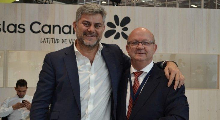 Carlos Berrozpe, director general CBS Asset Management, y Juan Antonio González, gerente de Tourinews