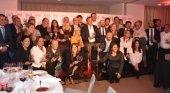 Los galardonados posan con los más de 30 premios que RIU repartió entre sus colaboradores de Latinoamérica