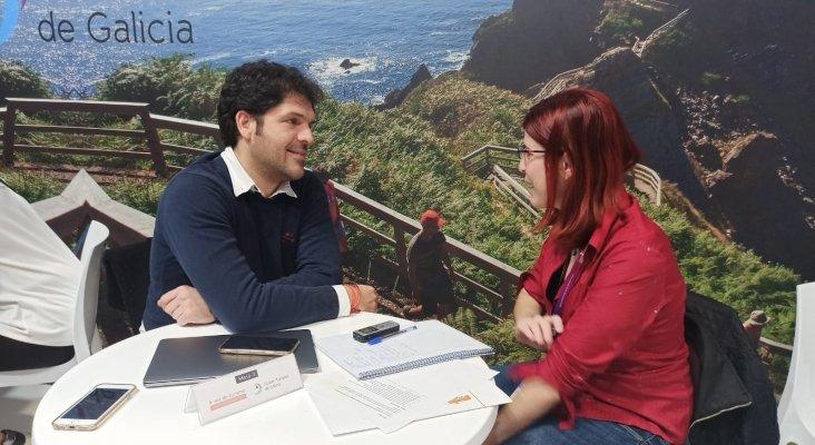 Alberto Rodríguez Boo, Managing Director de Alda hotels, y Amor Alonso