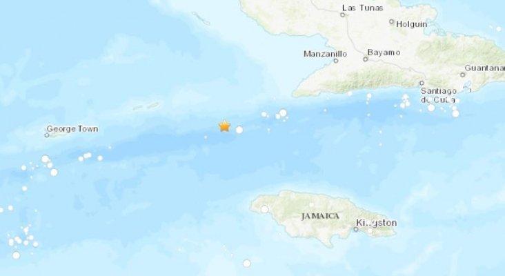 Terremoto de 7,7 grados y alerta de tsunami en el área del Caribe|Foto: USGS