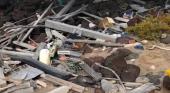 Denuncian la acumulación de basura en el islote de Lobos, Fuerteventura (Canarias)
