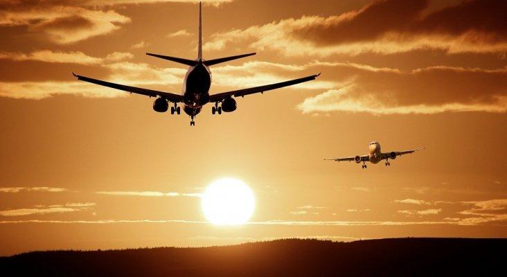 ¿Cuántos aviones caben en el aire?