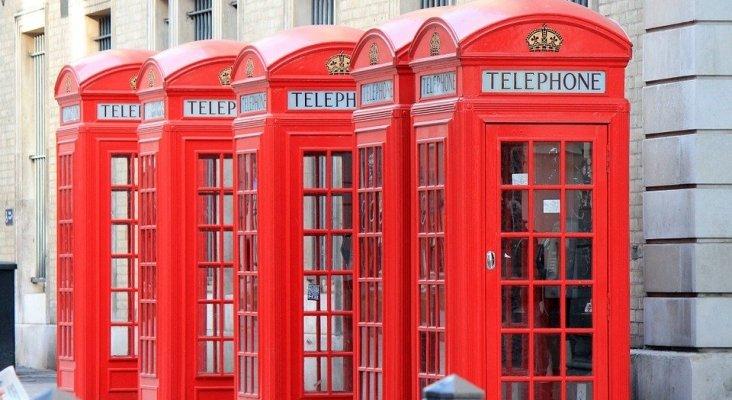 Las cabinas de teléfono de Londres son un icono turístico