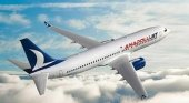 Avión de Anadolu Jet, filial de Turkish Airlines