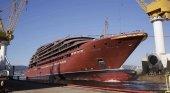 The Ritz Carlton presenta un plan de rescate para el astillero Barreras (Vigo)  Spanish Ports