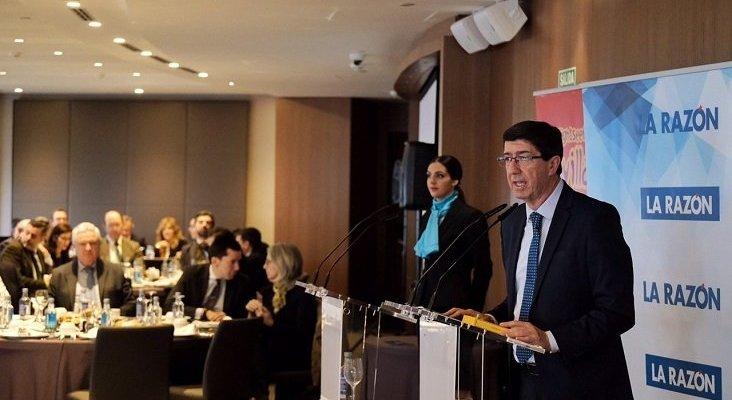 La red de cátedras de Turismo de Andalucía se extenderá a las ocho provincias | Foto: Juan Marín, vicepresidente de la Junta de Andalucía