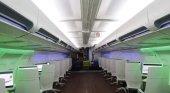 Reconvierten viejo avión en biblioteca