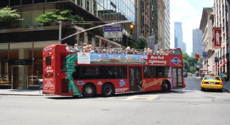 Bus turístico de Gray Line en Nueva York- Sergio Calleja (Life is a trip) (CC BY-SA 2.0)