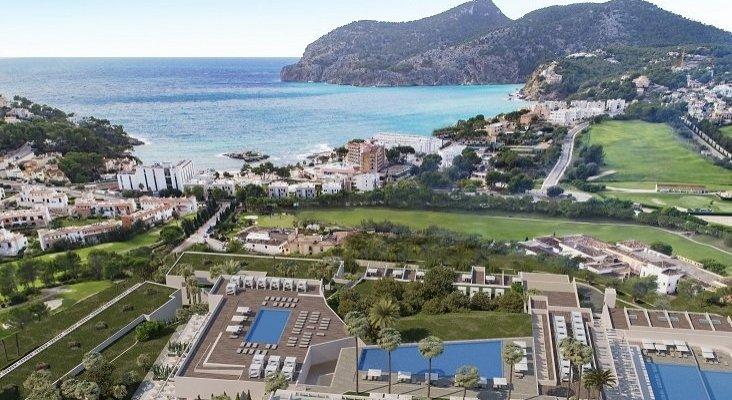 El turismo MICE y deportivo salva a Zafiro Hotels del desastre por la desaparición de Cook | Foto: Zafiro Palace Andratx, que abrirá el próximo mayo vía fvw