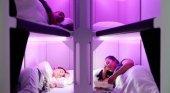 Aerolínea propone volar en literas en clase turista