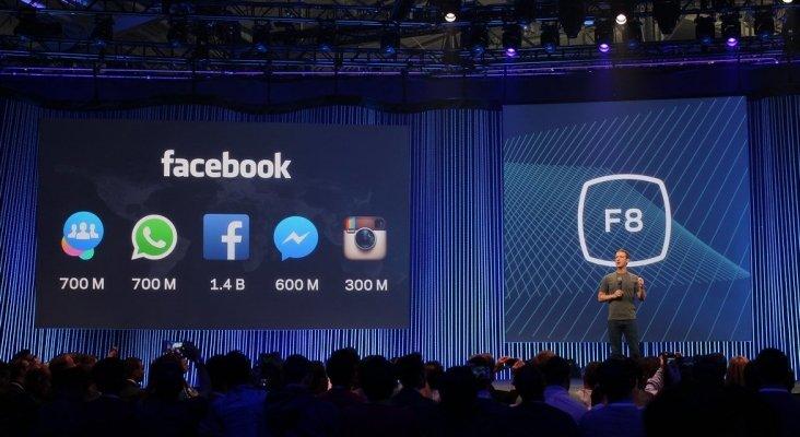 Mark Zuckerberg, creador de Facebook, en el F8 de 2015 | Foto: Maurizio Pesce (CC BY 2.0)