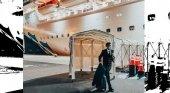 El capitán, el último en abandonar el crucero en cuarentena| Foto: Primer oficial Vincenzo Guardascione vía Princess Cruises