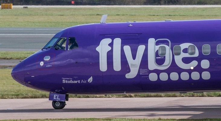 Los 115 millones del gobierno británico no consiguen salvar Flybe   Foto: Aero Pixels (CC BY 2.0)