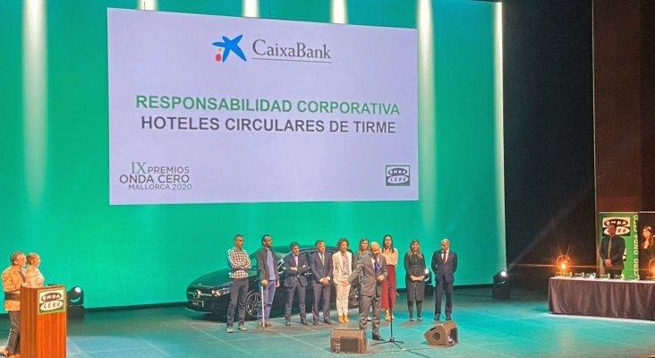 """Premio a """"Hoteles Circulares"""" en los premios Onda Cero Mallorca 2020"""