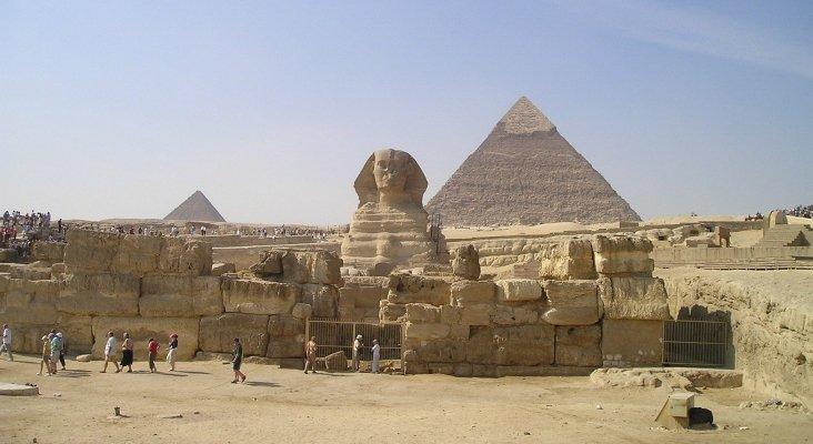 Normalidad en las zonas turísticas de Egipto, pese al coronavirus