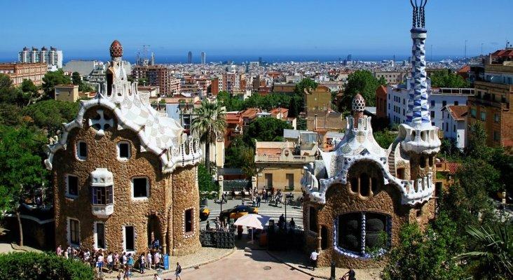 Parc Guel en Barcelona