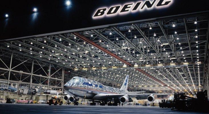 Boeing paraliza su producción