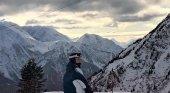 Suiza, un lugar donde la nieve viste caminos y campos