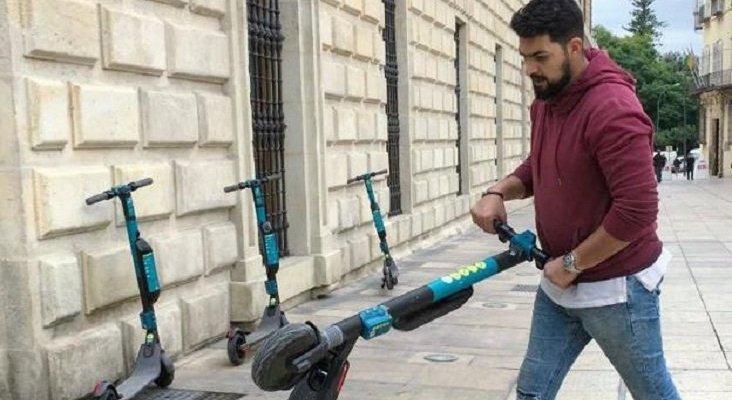 Facilitan el alquiler de patinetes eléctricos para el personal sanitario en Málaga |Foto: Sur