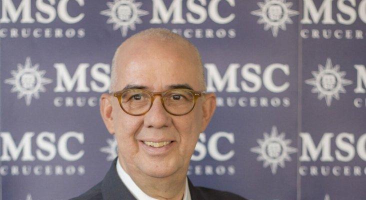 Emiliano González, presidente de MSC España