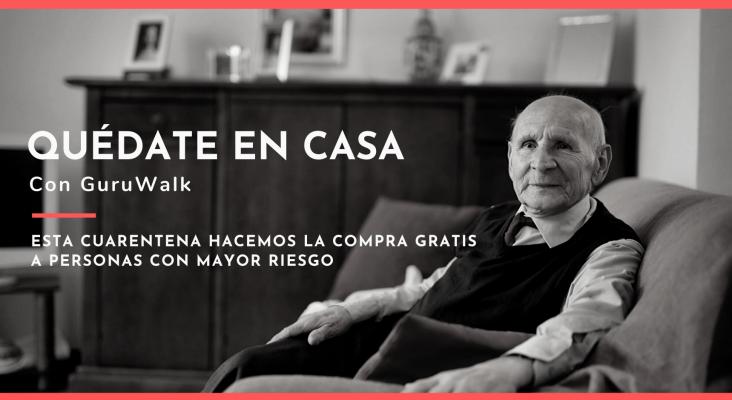 """GuruWalk ayuda a """"personas con mayor riesgo"""" durante la crisis del Covid-19"""