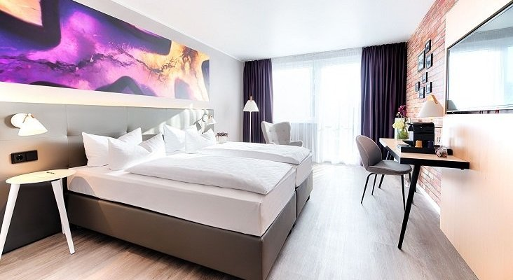Las habitaciones de hotel en Alemania se transforman en oficinas de trabajo | Foto: fvw