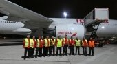 El primer vuelo del Corredor Aéreo Sanitario llega a España con 3 mill. de mascarillas