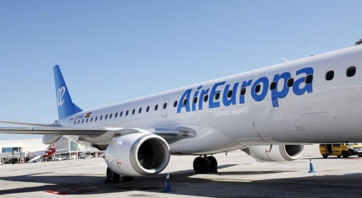 """Air Europa mantiene un """"puente aéreo de crisis"""" entre las islas Baleares"""