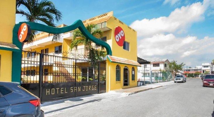 OYO Hotels ofrece 1.000 noches de alojamiento gratuito a los sanitarios de México | Foto: OYO Hotel San Jorge en Cancún- oyorooms.com