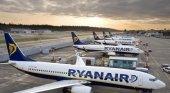 Ryanair sólo opera 20 vuelos diarios en Europa