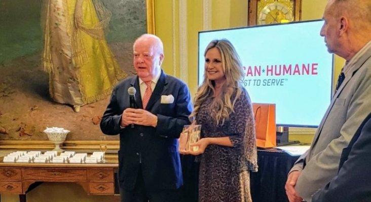 El presidente de Loro Parque recibe el premio 'Champion of Conservation' de American Humane