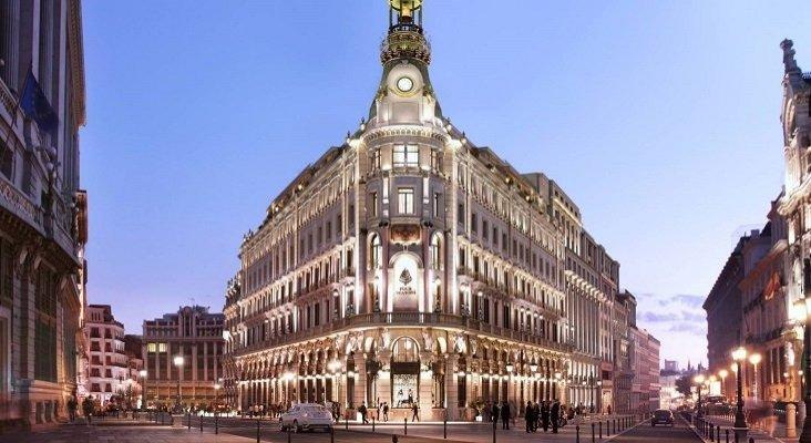 El COVID-19 retrasa la apertura del primer hotel Four Seasons en España | Foto: Recreación del Four Seasons de Madrid- CincoDías
