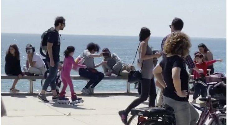 Aglomeraciones en playas y paseos de España en el primer día de desconfinamiento