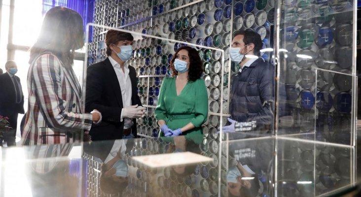 Madrid reconocerá la labor de los hoteles en la crisis del coronavirus | Foto: Díaz Ayuso, presidenta de la C. de Madrid, visita el hotel Room Mate Óscar