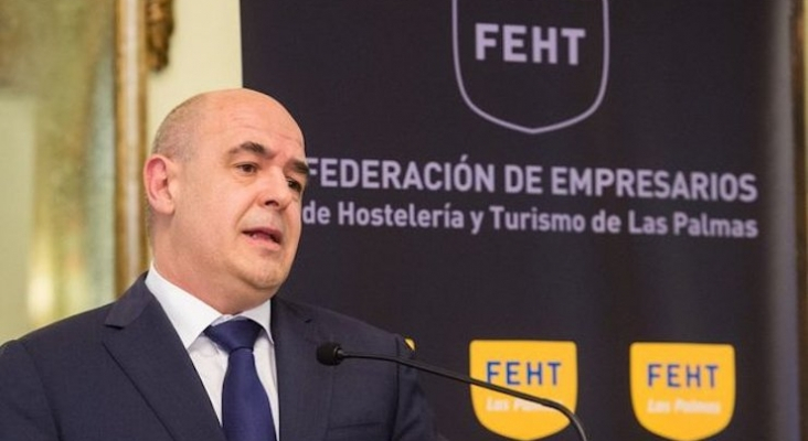 José María Mañaricúa, presidente de la FEHT