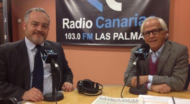 Pablo Barbero con Ignacio Moll durante la emisión de Bungalow 103