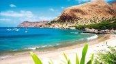Playa en el archipiélago de Cabo Verde