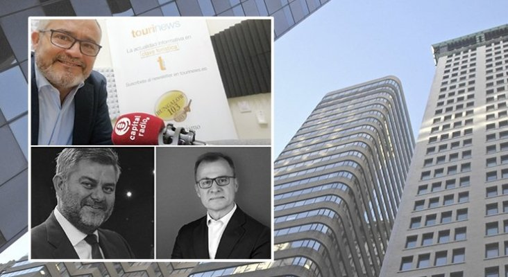 Ignacio Moll, Carlos Berrozpe, CEO y fundador de CBS Asset Management y Virilo Moro, CEO y fundador de VMA Capital Advisors