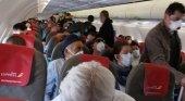¿Está justificado el hacinamiento en el vuelo de Iberia Express? | Foto @PATRICABRERA8