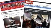 """""""Primer caso de rabia aérea"""", la prensa británica sobre el polémico vuelo de Iberia a Canarias"""