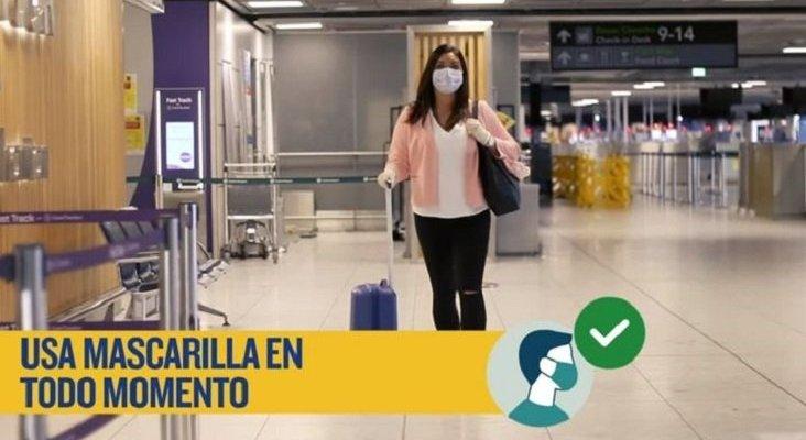 Ryanair publica sus 'Instrucciones para un vuelo seguro'