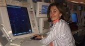 Mercedes Varona, controladora radar y secretaria general de Aprocta
